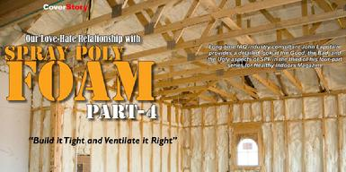#IAQS Indoor Air Quality Spray Foam Insulation Inspection 3